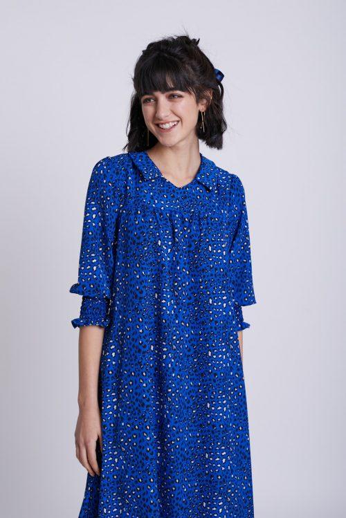שמלות יפות אופנה צנועה סטודיו שחרית