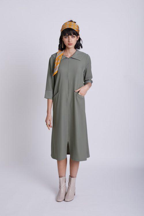 שמלת יובל ירוק